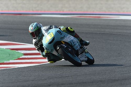 Misano Moto3: Dalla Porta wins wild race, Bezzecchi crashes