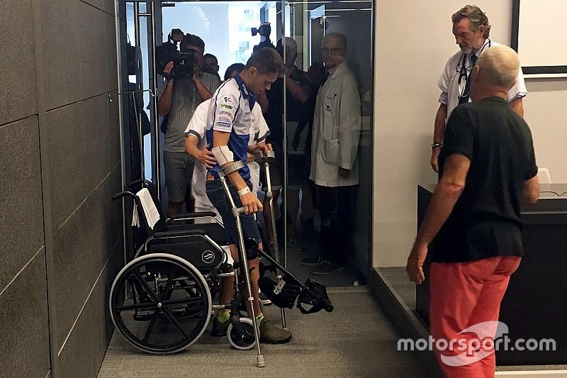 """Rabat: """"Tenía la pierna retorcida como si fuera una S"""""""