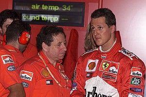 Todt visita dos veces al mes a Michael Schumacher