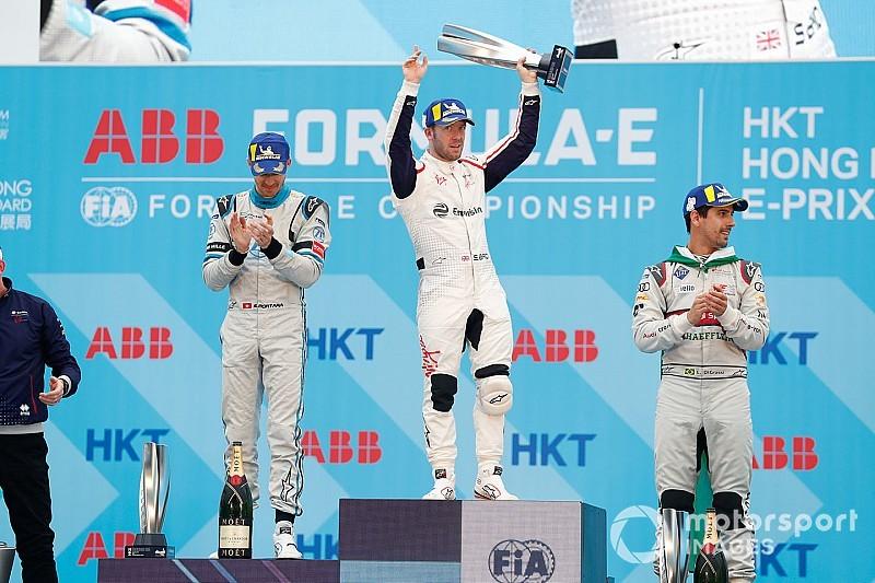 Agressieve Bird moet zege ePrix Hong Kong inleveren, podium voor Frijns