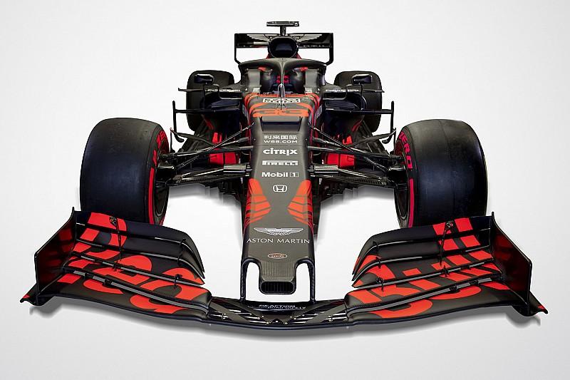 """レッドブル・ホンダの新車RB15、斬新なカラーリングは""""一回限り""""の限定仕様"""
