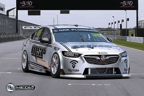 Gallery: Hazelwood's new Holden Supercar