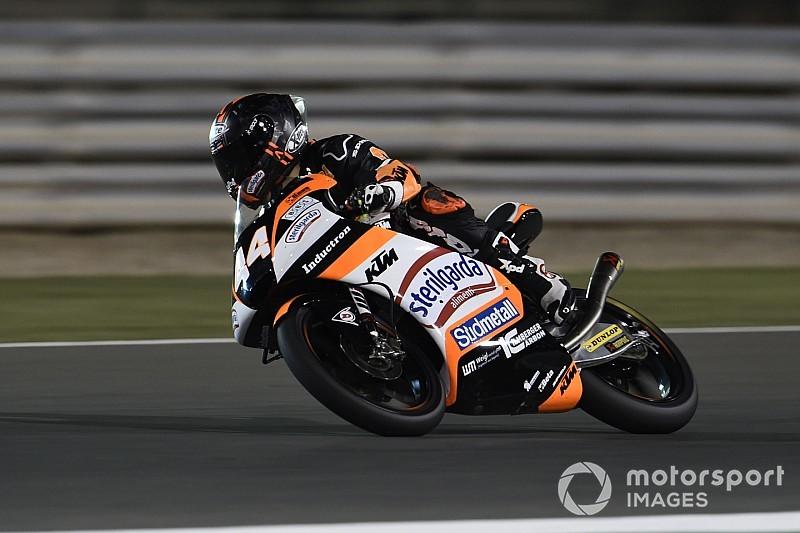 Moto3, Losail, Libere 2: Canet da record davanti a tre italiani