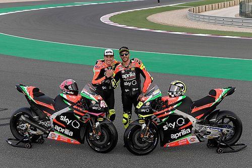 Fotogallery: ecco la livrea 2019 delle Aprilia RS-GP MotoGP di Iannone ed Espargaro