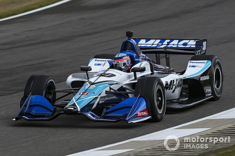 Barber IndyCar: Sato takes pole, leads RLLR 1-2