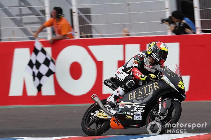 Moto3: Masia vence após abrir última volta em quinto lugar