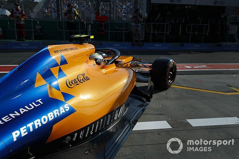 McLaren nog niet overgeschakeld op brandstof van Petrobras