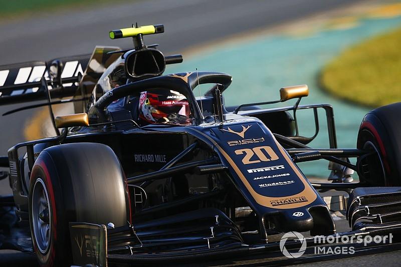 """Magnussen: """"Gat naar Red Bull is lastig te dichten"""""""