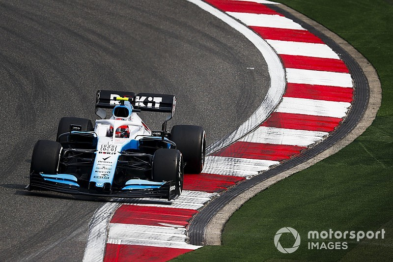 "Kubica encouraged by ""different"" Williams FW42 in China"