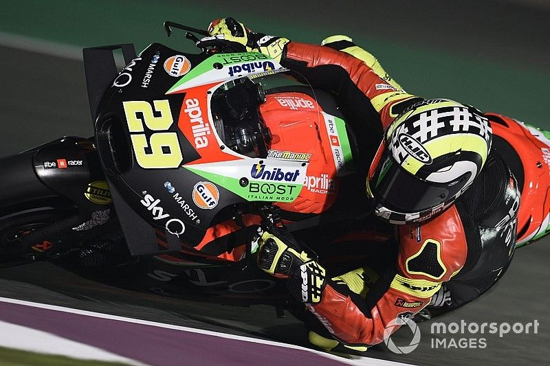 """Iannone """"not expecting a lot"""" on Aprilia debut"""