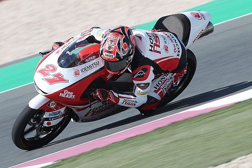 カタールGP予選Moto3:アロン・カネットがPP、鳥羽海渡が3番手フロントロウを獲得!