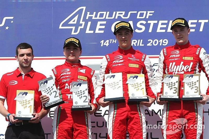 Enzo Fittipaldi é 2º em corrida 2 da F3 Regional Europeia; Igor Fraga é 4º