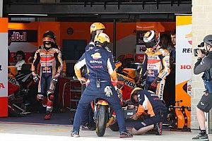 """El problema que tuvo Lorenzo en Austin """"aún hay que esclarecerlo"""", dice Honda"""