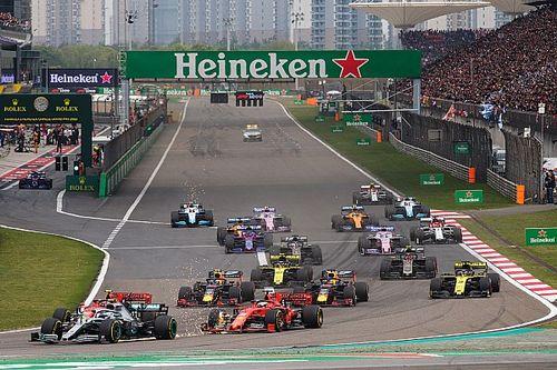 中国大奖赛或改期至2021年下半年进行