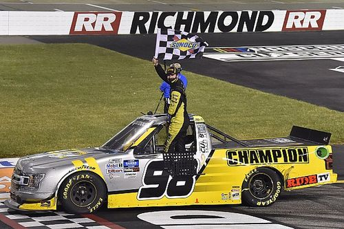 Grant Enfinger rallies to take Richmond Trucks win over Crafton