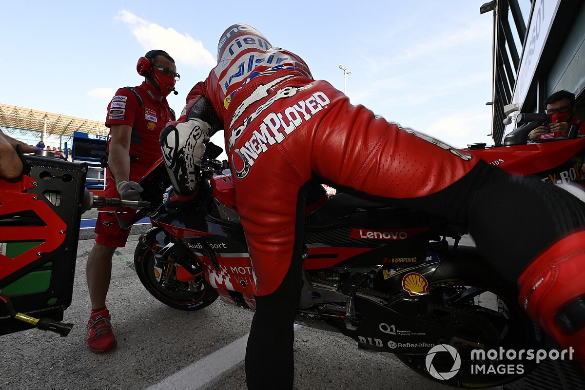 Dovizioso confirma que no estará con ningún equipo de MotoGP en 2021