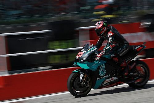 Quartararo voor Dovizioso in eerste training GP Catalonië
