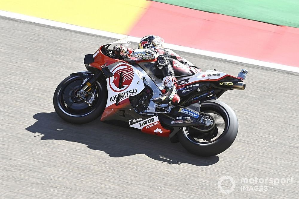 MotoGP, Aragon: nel Warm-Up svetta Nakagami
