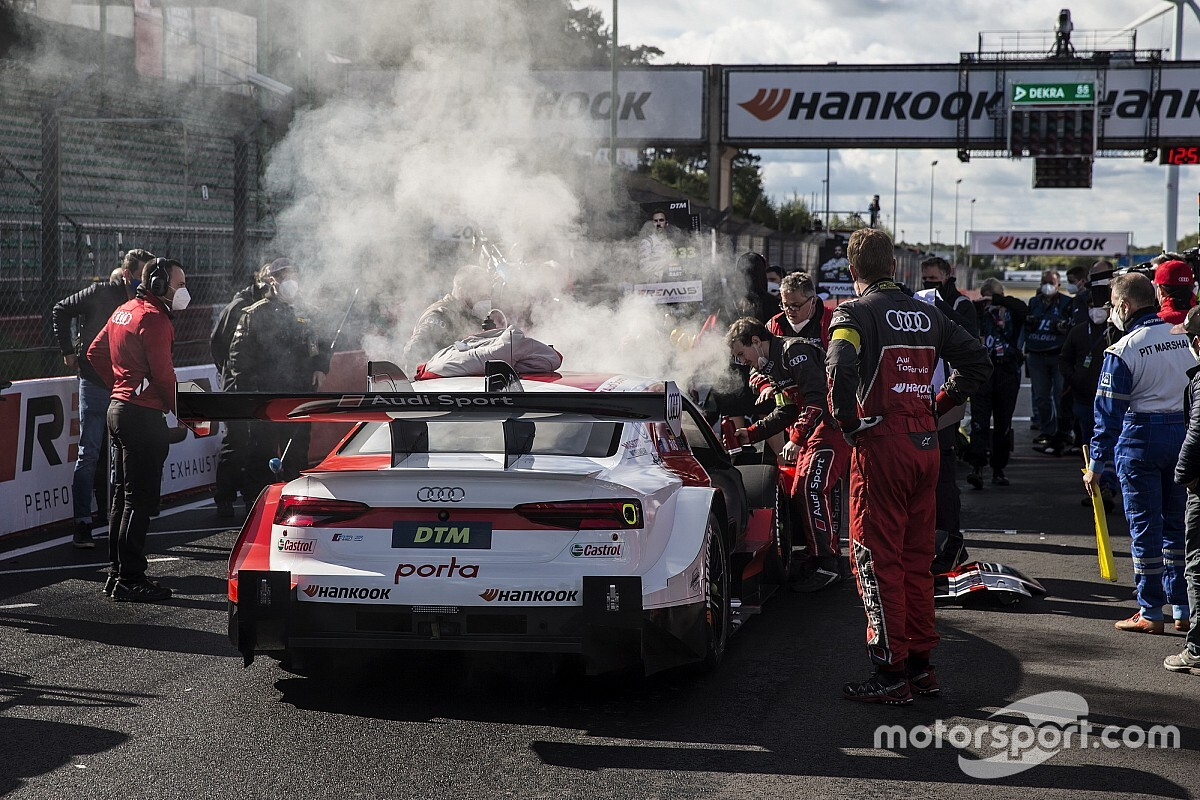 Rast feared his race was over after Zolder grid fire