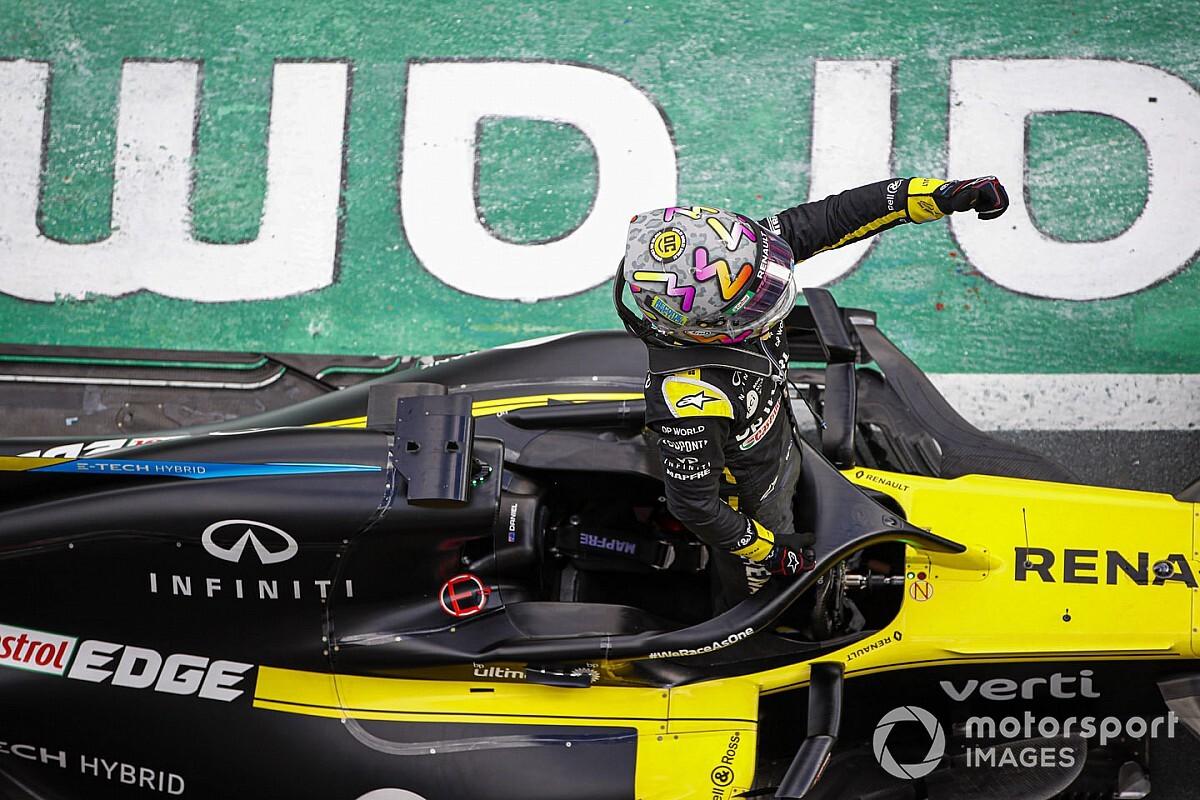 """Un podium pour Renault grâce à un tatouage """"fédérateur"""""""