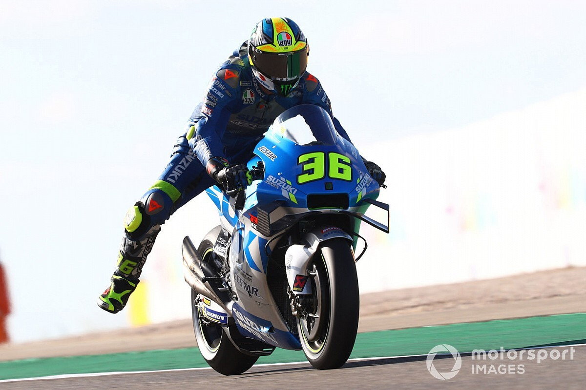 Mir: My Suzuki feels good again, but isn't as fast as Yamahas