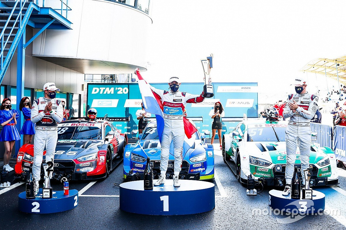 """Frijns: Maiden DTM win a """"relief"""" after years of team orders"""