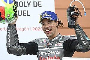 Winnaar Morbidelli speelde 'alles of niets' tijdens Teruel GP