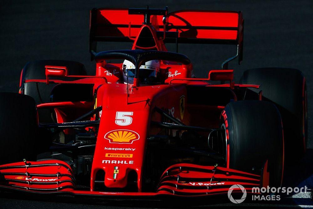 """Vettel: """"Ferrari'nin tek sorunu motor değil"""""""