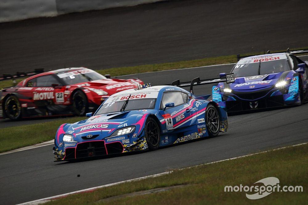 2位表彰台でランク首位浮上、14号車WAKO'S 大嶋&坪井「あとは予選ペースの改善が課題」