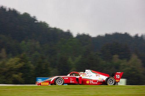 Formula Regional, Red Bull Ring, Gara 3: Petecof nel tris Prema