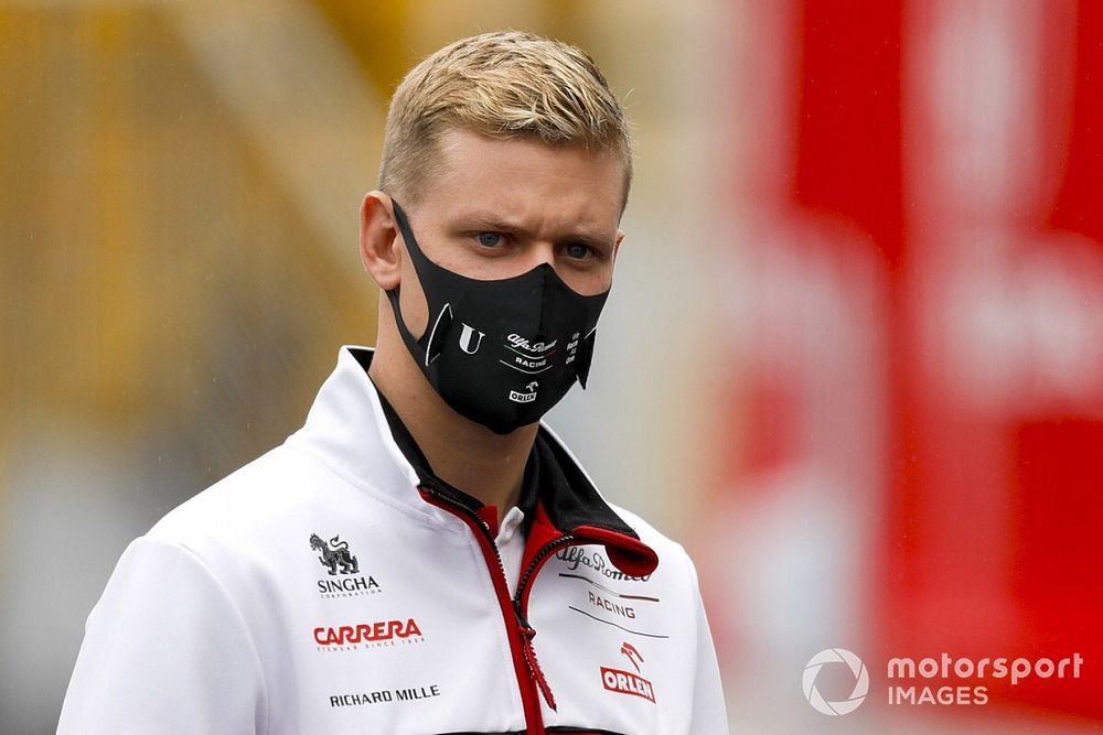 Alfa Romeo'nun Mick Schumacher için ilk izlenimleri iyi