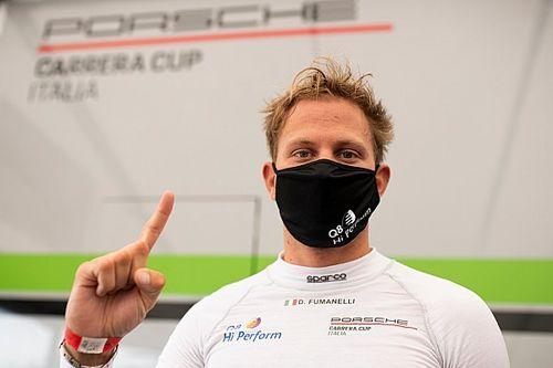 """Carrera Cup Italia, fulmine-Fumanelli a Imola: """"Ci voleva!"""""""