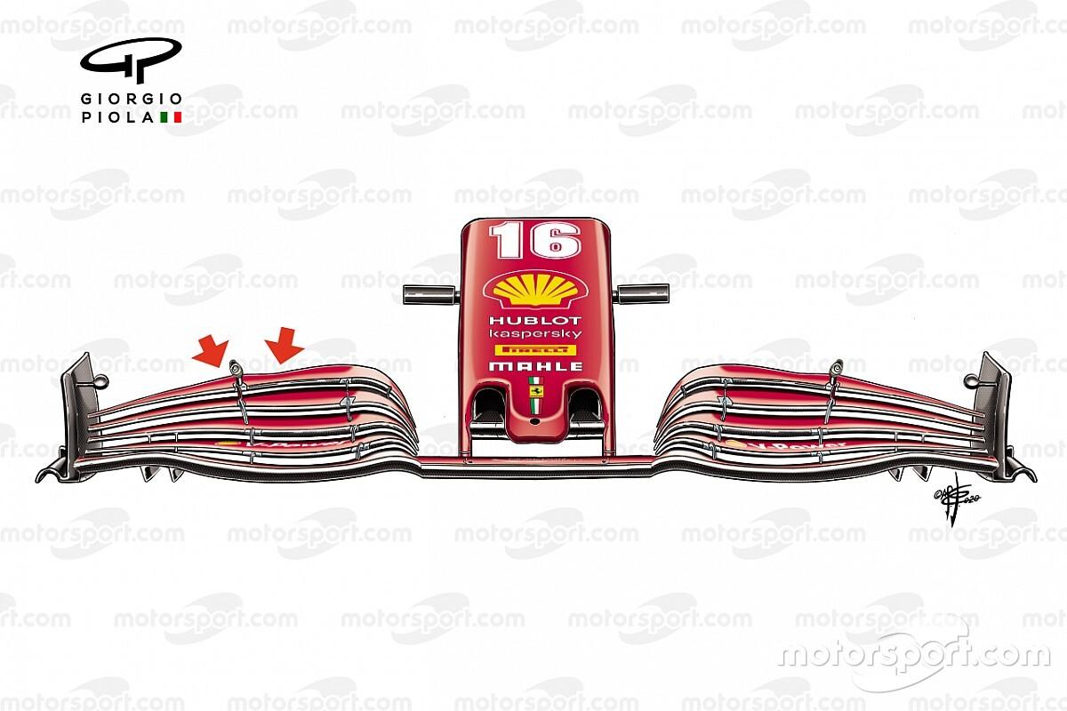 Análise técnica: o que se pode tirar das atualizações da Ferrari em Ímola?