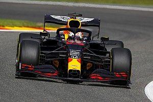 """Verstappen derde op Spa: """"Saaie race, er was niet veel aan"""""""