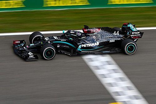 """Hamilton estuvo """"nervioso"""" por sufrir otra rotura de neumáticos"""