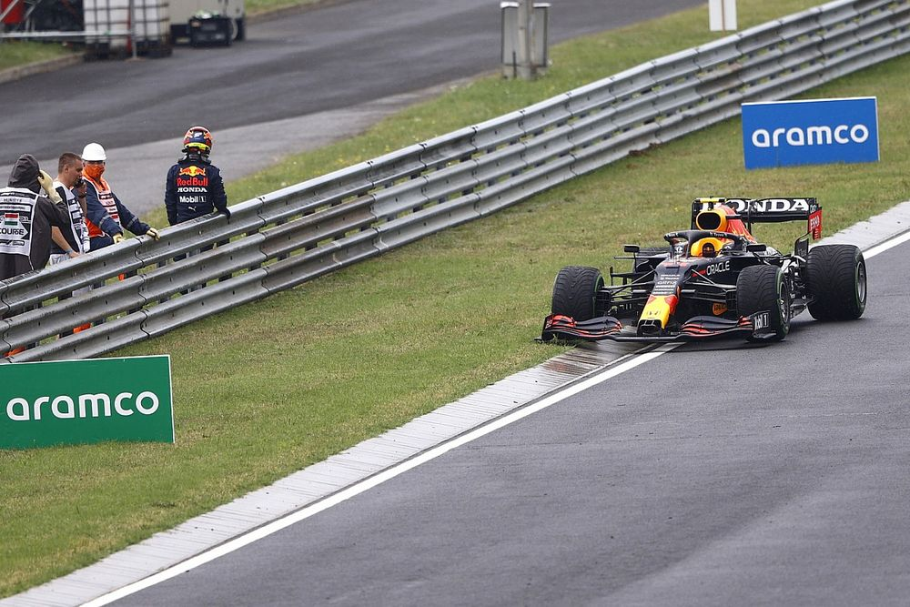 Red Bull fears another engine loss after Hungarian GP smash