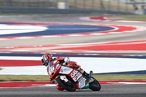 Austin Moto3: Guevara declared winner as huge crash ends race early