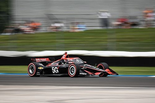 Power misses pole, but happy he's back in the groove again