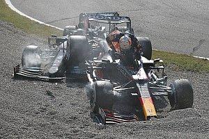 VIDEO: Verstappen en Hamilton allebei klaar in Monza na clash