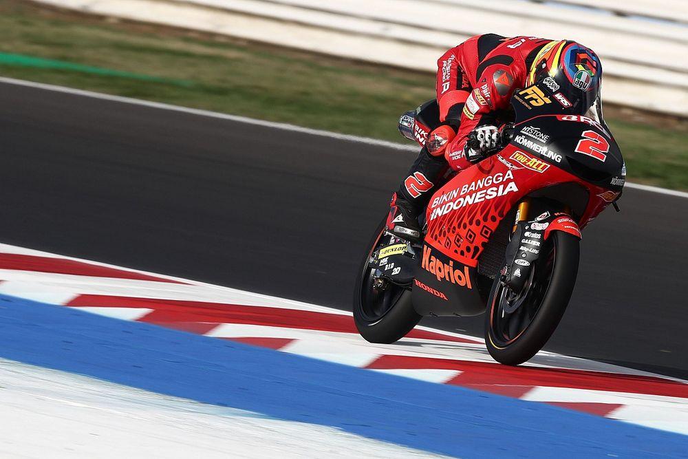 Moto3: Rodrigo salta Austin per una frattura alla testa dell'omero