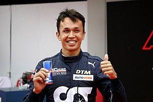 Nurburgring DTM: Albon scores maiden pole in wet qualifying