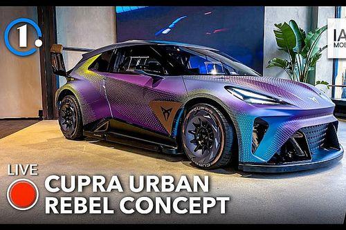 La Cupra UrbanRebel scenderà in pista: video dal Salone di Monaco