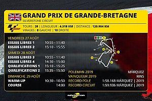 GP de Grande-Bretagne - Programme et guide d'avant-course