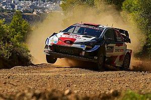 WRC Grecia: Rovanpera mantiene liderato el sábado por la mañana