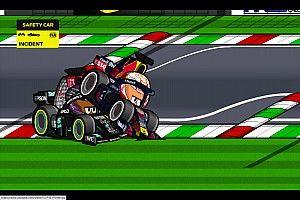 Vídeo: el apasionante GP de Italia 2021 de F1 según MiniDrivers