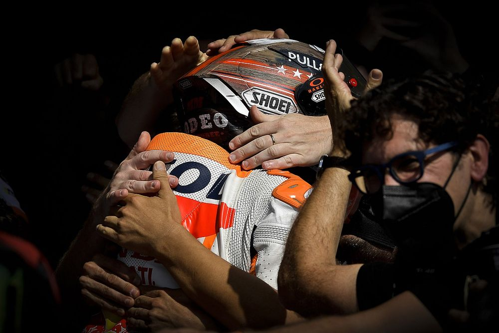 """The Marquez self-preservation that fulfilled a COTA MotoGP """"dream"""""""