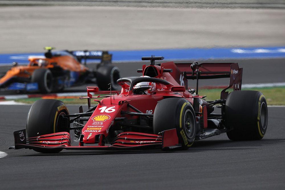 """Leclerc: """"Her şey olumlu görünüyor ama kendimizi kaptırmamalıyız"""""""
