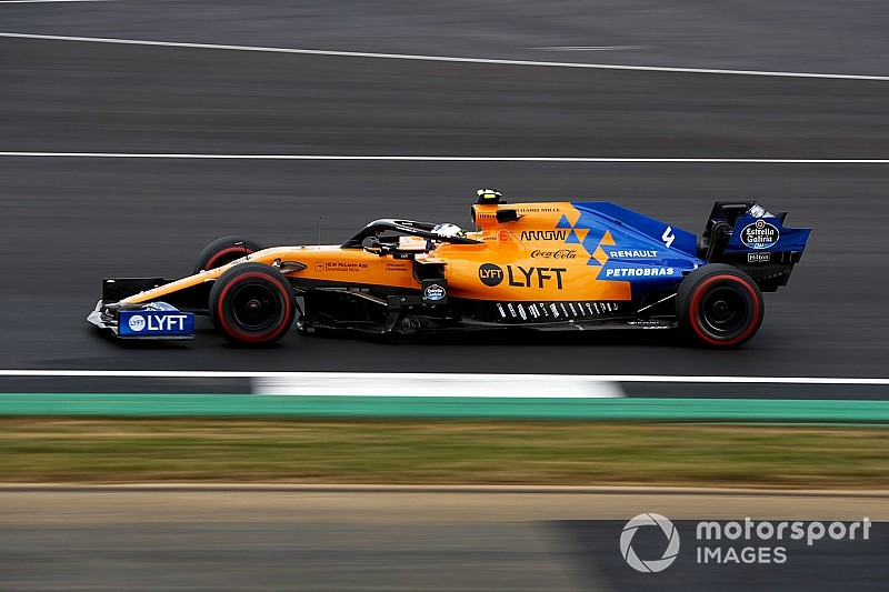 Norris cambia al motor mejorado de Renault