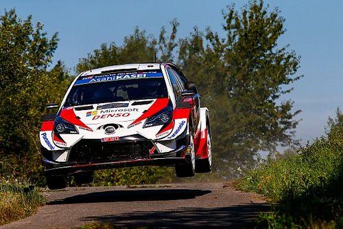 WRCドイツ土曜日:ライバル脱落でトヨタがトップ3独占、勝田貴元は10番手