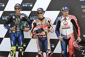 Parrilla de salida del GP de Gran Bretaña de MotoGP
